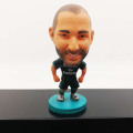 Custom pvc mini soccer player figure dolls