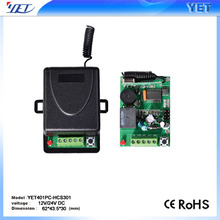 wireless RF remote control/ transmitter receiver for gate automation system/motor controller YET401-HCS301