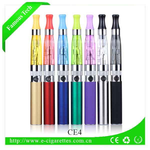 2016 New products best e cigarette 1.6ml clearomizer ego ce4 hookah pens electronic cigarette kit wholesale accept paypal