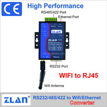 ZLAN7104 WIFI module RJ45 Ethernet to RS232 RS485 RS422 Converter wireless Serial Device Server