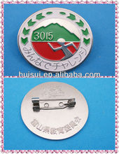 high quality metal handicraft badge