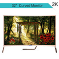 32'' led monitor with curved panel for watching movie