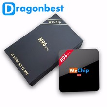 install play store app free WeChip H96 pro S912 2G 16G Octa core Kodi 17.0 dual wifi Android 6.0 tv box