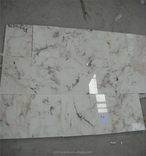 travertine marble and white marble all sides road side curb stone