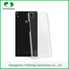 Durable cell phone protective fancy transparent phone case clear PC plastic Case cover For Huawei P7
