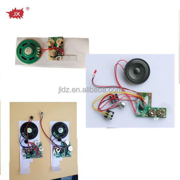 Programmer sound module/mini voice recorded chip/recordable chips for greeting cards and toys