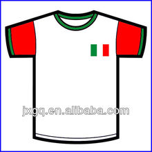 2014 Brazil world cup latest fashion custom screen printed tshirts for print