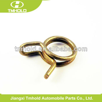 double wire hose clamp without screw