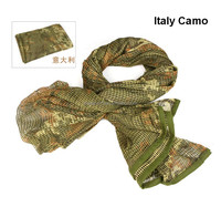 Polyester Cotton Military Shemagh Tactical Desert Keffiyeh Scarf Wrap