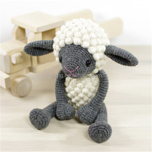 Crochet stuffed Amigurumi lamb