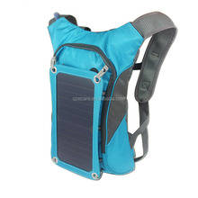 Top Quality Amazon New Outdoor Travel Waterproof Hiking Solar Backpack