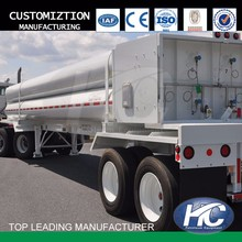 Oil field equipment 8 tube CNG trailer/tow truck with high quality