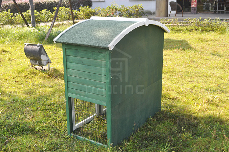 Professional made large size easy clean handmade wood rabbit hutch