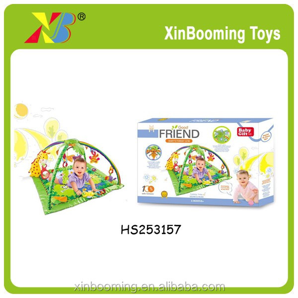 good quality wholesale baby play music gym mat