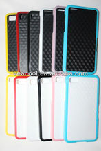 New Stereo Veins Design Dual Color PC TPU Case for BlackBerry Z10 BB10
