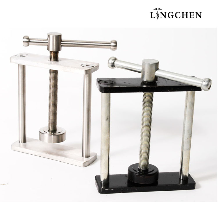 Supply dental lab press for two flask dental Compress metal dental clamps