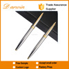 Wholesale customized heavy metal pen luxury sliver Metal Ball Pen with gift box