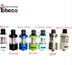 2016 Tobeco most popular authentic tanks super tank minis with 11 colors, best seller mini super tank