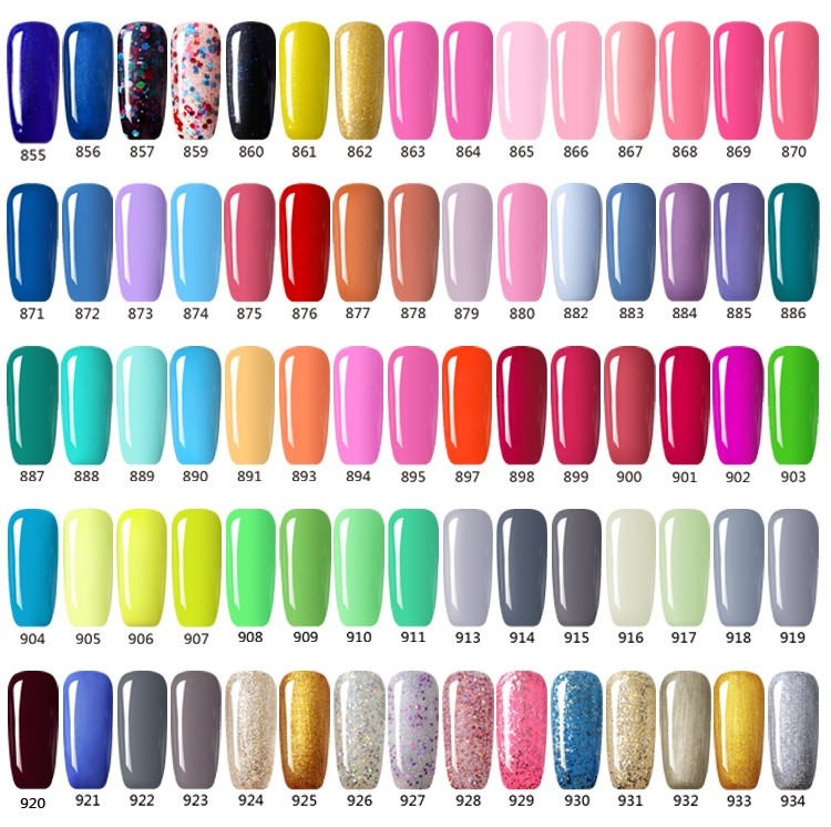 L&M Factory Wholesale ODM/OEM High Quality 7.3ml UV Gel Nail Polish