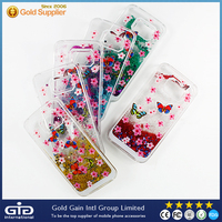 [GGIT] OEM Beautiful BLING Quicksand PC Phone Case for Samsung for Galaxy S6 edge G925F G925A G925FQ G925I