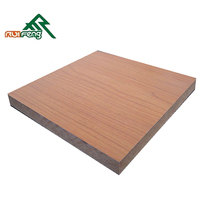 1220*2440 Waterproof MDF board/Water resistant MDF board/bendable plywood home depot, linyi factory