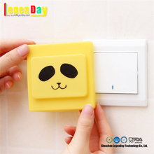waterproof soft safe silicone rubber light switch protection cover with custom colorful protective case