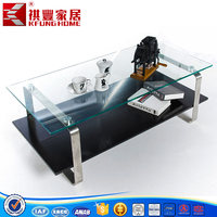 New Design High Gloss MDF Multifunctional Coffee Table