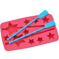 New Red Silicone Cute Chocolate Cake Ice Cream Moulds For Kids DIY Ice Tray Mould High Quality Ice Cream Tools