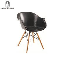 Modern popular special design PP starbucks chair with armrest