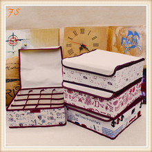 2015 wholesale fabric cotton and linen foldable storage box