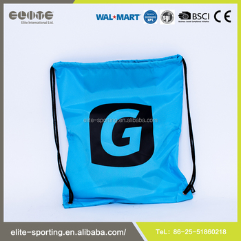New Production Logo Printing Drawstring Ball Bag