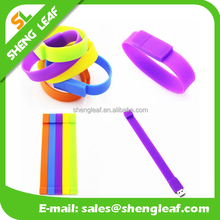 promotional silicone wristband usb flash drive customized