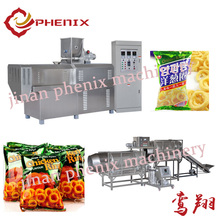 corn puffs snacks food extrusion making machine