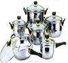 JP-SS02 Wholesale Cookware Sets Stainless Steel