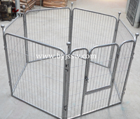 Welded Pet Dog Barrier & Aluminum Exercise Pen For Dogs (Made In China)