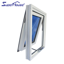 Superhouse double glazed aluminum awning window comply with Australia AS2047 standard and CSA Standard