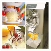 Commercial Italian hard ice cream machine/batch freezer for sale
