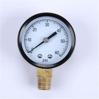 High Quality Normal Pressure Gauge Durable LightWeight Easy To Read Clear Automatic Car Tyre Inflator