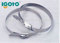 316 stainless steel self-locking cable strap