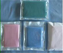 blue color for medical and spa salon use Disposable PP and PE film coated fitted bed sheet