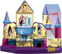 2012 {Qi Ling} newest design princess bounce house,inflatable bounce,bouncers inflatables