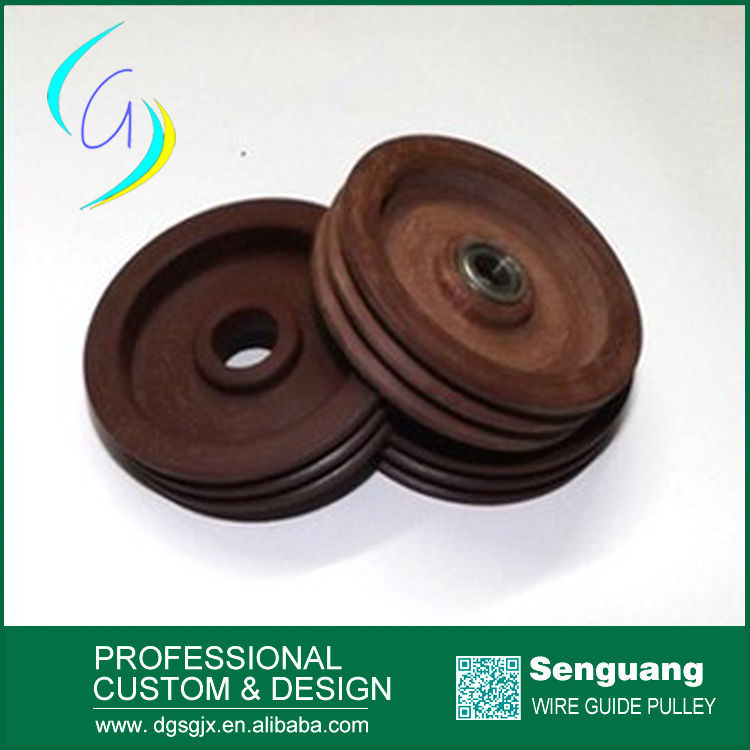 Custom-Made Copper Wire Guide Electric Cloth Pulley For Micro Wire Drawing Machine And enamelling machine