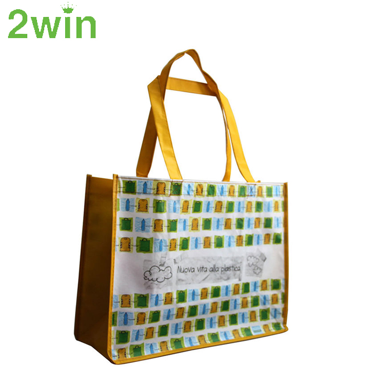 Hot Selling New Material Resuable Cheaper RPET Shopping Bag