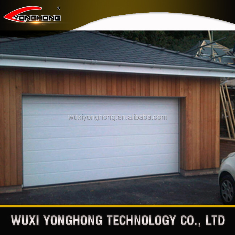 YONGHONG white colour security garage door prices lowes