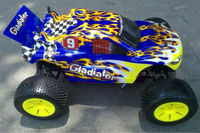 HSP 1:10 scale monster truck r c cars
