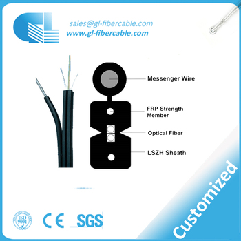 High Quality FTTH drop optical fiber cable for access network