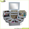 living room cabinet wooden storage box nail polish cabinet