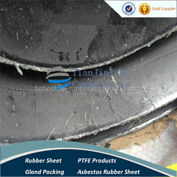 oil resistance no asbestos rubber sheet with wire inserted-G