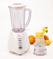 2016 hot sale 2 in 1 power electric food blender with plastic button switch B18