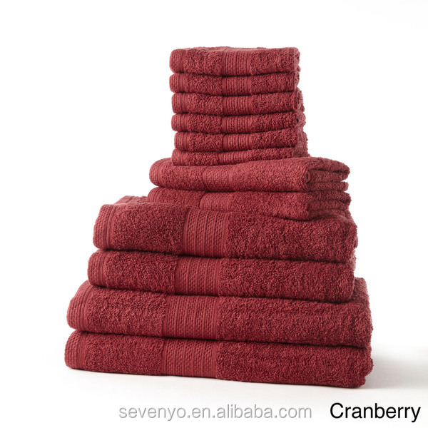 Hot sales terry bath towel with dobby border China supplier wholesale